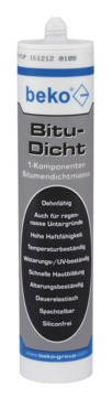 Beko Bitu-Dicht 310 ml Schwarz