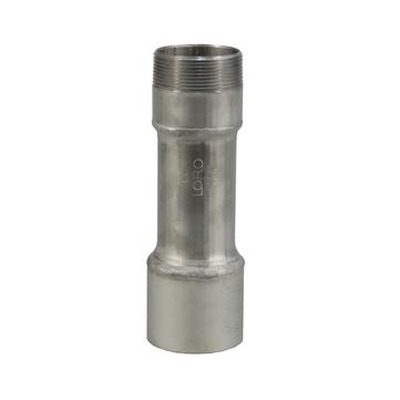 LOROWERK Verlängerungsrohr für Füllstutzen DN 70 mm Edelstahl V4A