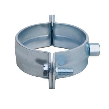 LOROWERK 6-teilige Rohrschelle rund DN 100 / M10/12 Nr. 00975.100x ohne Schalldämmung Feuerverzinkt