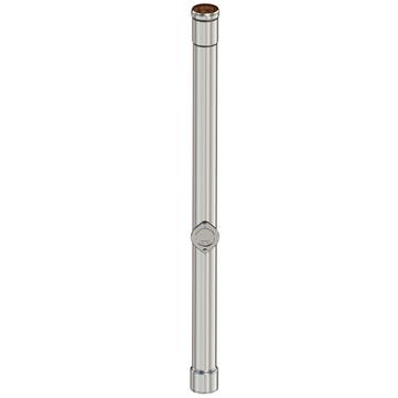 LOROWERK 8-teilige Standrohr rund 2,0 m mit Öffnung DN 80 Feuerverzinkt