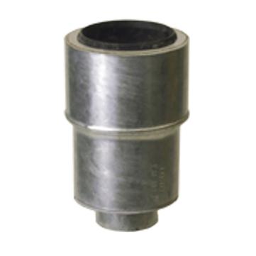 LOROWERK Verbundrohr Abgleichstück 100/50 mm Nr. 58602. DB0X Abgleichstück Feuerverzinkt