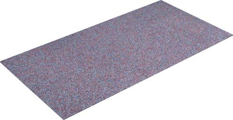KRAIBURG Bautenschutzplatte 6 mm 2,30x1,15 m Kraitec Protect Gummigranulat Bunt