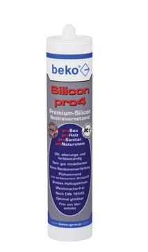 BEK Silikon Pro4 Premium 310ml TRAN