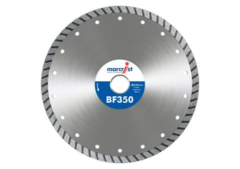 Marcrist Trennscheibe BF350 230 x 22,2 mm Präzisionsschnitt universal Diamanttrennscheiben