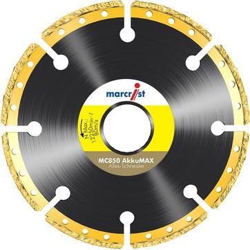 Marcrist Trennscheibe MC850 125 x 22,2 mm für AkkuMAX Diamanttrennscheiben