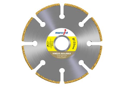Marcrist Trennscheibe HW850 125 x 22,2 mm für AkkuMAX Diamanttrennscheiben