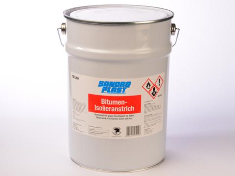 Sandroplast Isolieranstrich Bitumen 10 l nach DIN 18195