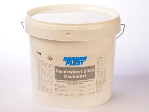 Sandroplast Dachelast 2000 12 kg Anthrazit