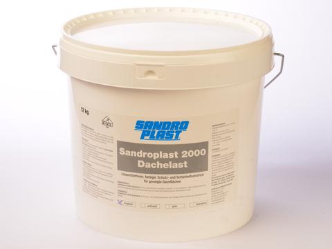 Sandroplast Dachelast 2000 12 kg Ziegelrot