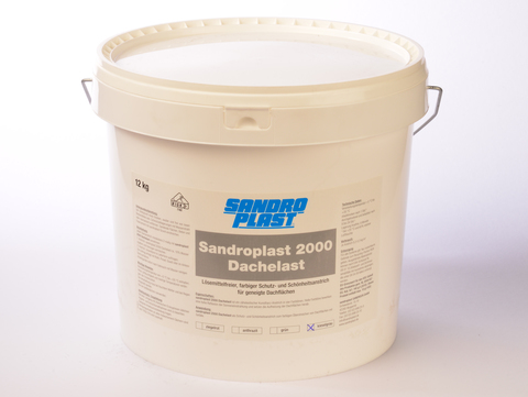 Sandroplast Dachelast 2000 12 kg Kieselgrau