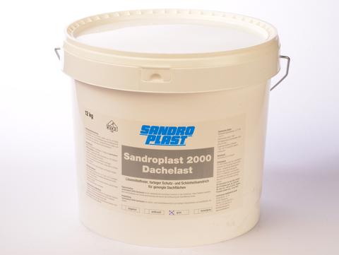 Sandroplast Dachelast 2000 12 kg Grün