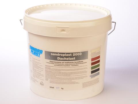 Sandroplast Dachelast 2000 10 kg Aluminiumfarben