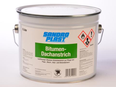 Sandroplast Dachanstrich Bitumen 5 l Regenerieranstrich