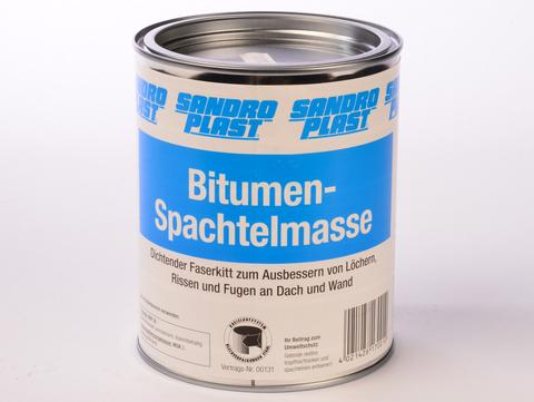 Sandroplast Spachtelmasse Bitumen 1 kg