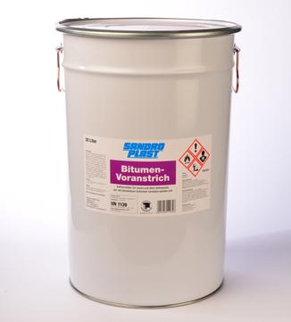Sandroplast Voranstrich Bitumen DIN 30 L nach DIN 18195