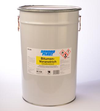 Sandroplast Voranstrich Bitumen 30 L Schnell trocknend