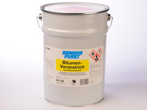 Sandroplast Voranstrich Bitumen 10 L Schnell trocknend