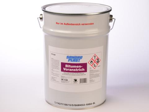 Sandroplast Voranstrich Bitumen DIN 10 L nach DIN 18195