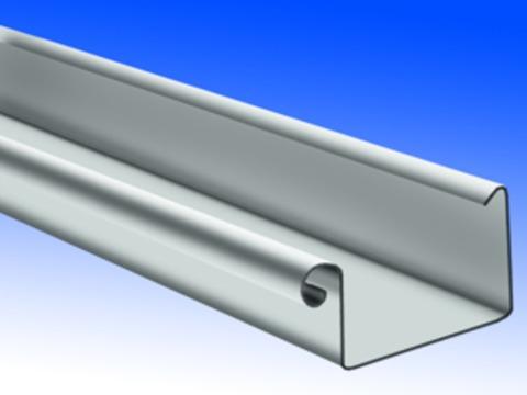 Biermann + Heuer 10-teilig Dachrinne Kasten 0,65 mm 3 m Titanzink