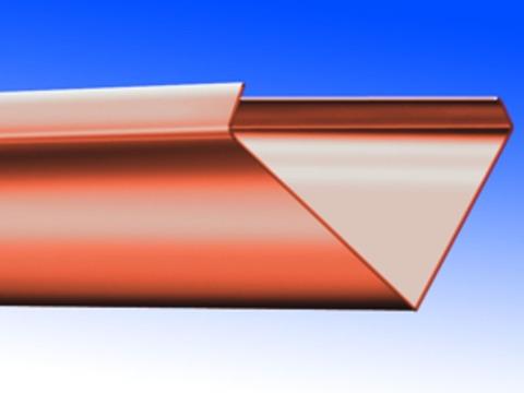Biermann&Heuer Kehle 500/0,70 mm 2 m Kupfer
