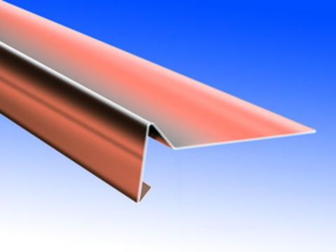 Biermann&Heuer Windbordleiste 200/0,70 mm 3 m Kupfer