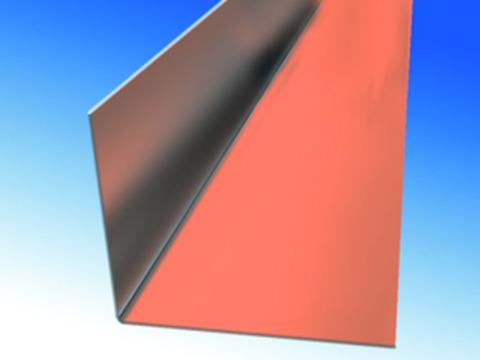 Biermann&Heuer Winkelblech 200/0,60 mm 3 m Kupfer