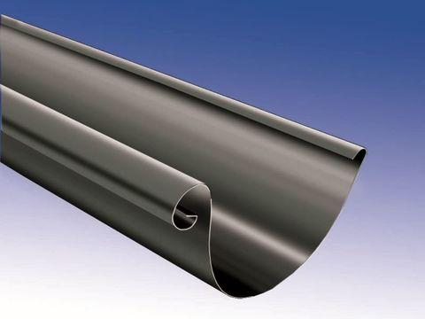 Biermann + Heuer 7-teilige Dachrinne halbrund 0,70 mm 3 m Titanzink Anthra