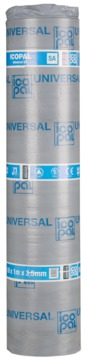 Icopal Dachbahn POCB universal SA 3,5mm 1,00x10,00m 15 Rollen je Palette selbsklebend