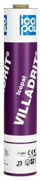 Icopal VILLADRIT 1,00x7,5 m PP-Vlies/Rillen-Vario mit Folie