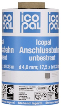 Icopal Polar Anschlussbahn 33 cm unbesandet mit Rillen-VARIO