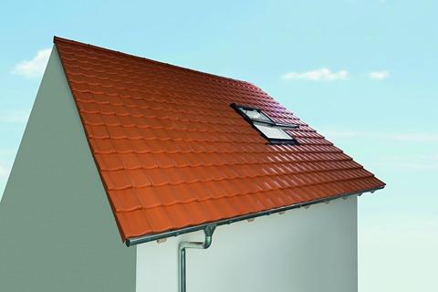 Roto Wohndachfenster Tronic R69GK W WD 05/11 Solar Funk Alu Designo 3Comfort Schwingfenster Weiß