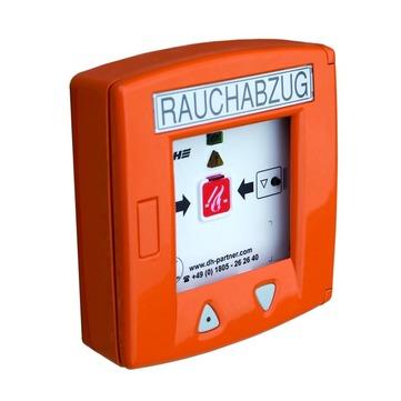 Roto Bedienungszubehör ZEL Rauch- und Wärmeabzug RT-LT 45 Lüftertaster Orange