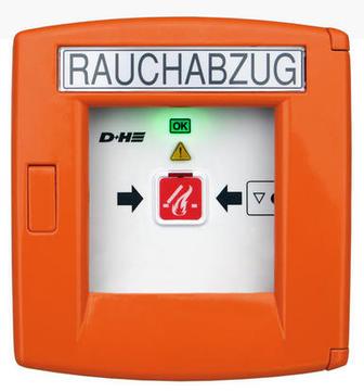Roto Bedienungszubehör ZEL Rauch- und Wärmeabzug RT 45 Taster Orange