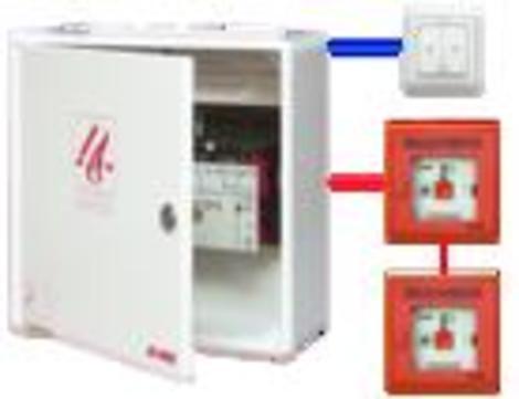 Roto Bedienungszubehör ZEL Rauch- und Wärmeabzug Steuerungspaket G2 Orange