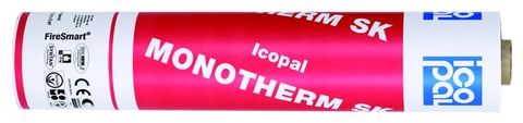 Icopal MONOTHERM-SK Quer 5x1 m T-Cut SK-Therm-Str. + Folie Lichtgrau