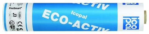 Icopal ECO ACTIV QS 5x1 m mit NOXITE Bestreuung Weiß