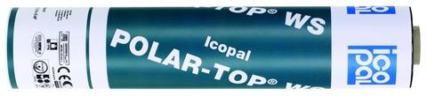 Icopal POLAR-TOP WS QS 5x1 m Wurzelschutz Grün