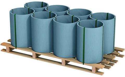 RHEINZINK Band 0,70/ 400 mm 1000 kg Titanzink prePATINA blaugrau
