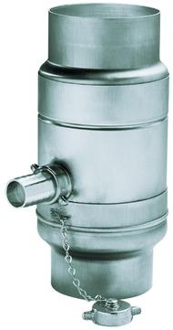 TZ  Wassersamml. m.Schl.100 mm ZINK Frank Bauelemente