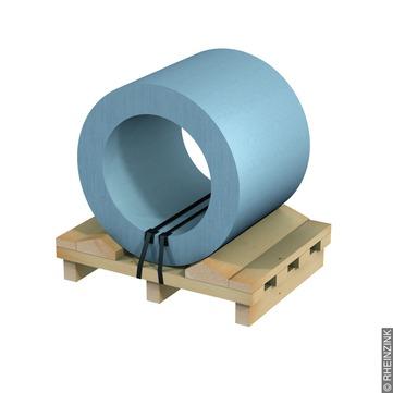 RHEINZINK Band 0,70/ 600 mm 1000 kg Titanzink prePATINA blaugrau