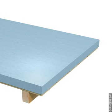 RHEINZINK Tafel 0,70 mm 1000x2000 mm ca. Titanzink prePATINA walzblank