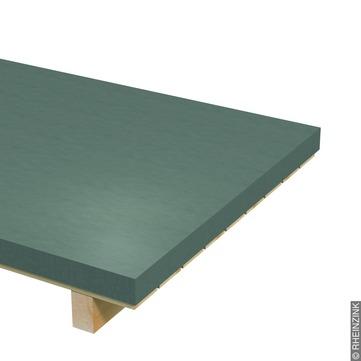 RHEINZINK Tafel 0,70 mm 1000x2000 mm ca. 1000 kg/Palette Prepatina schiefergrau
