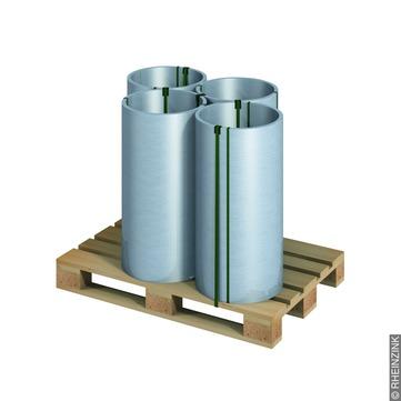 RHEINZINK Band 0,70/ 600 mm 100 kg Titanzink prePATINA walzblank