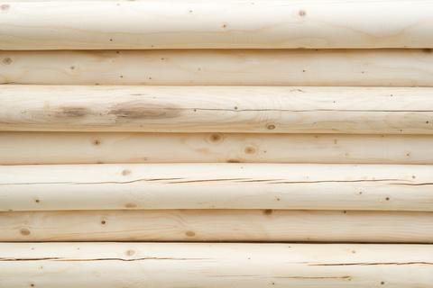 Holz Rundholz 120 mm druckimprägniert Länge 3,00 m