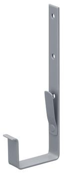 PROTEKTORWERK 6-teilige Rinnenhalter Kasten 30x4/480 mm Nennweite 115 mm feuerverzinkt und beschichtet Grau