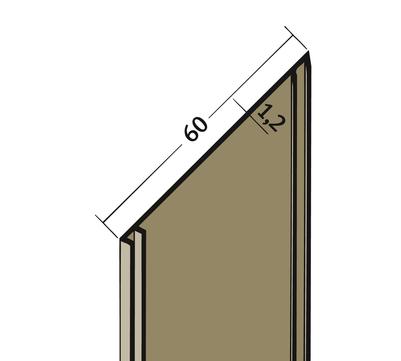 PROTEKTORWERK Fugenband 3327 60 mm PVC FBL60 25 m Schwarz