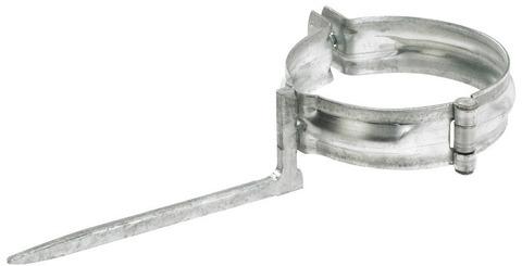 Lehmann 6-teilige Rohrschelle rund 100/150 mm Kupfer