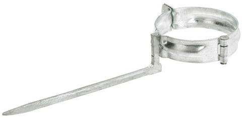Lehmann 6-teilige Rohrschelle rund 100/200 mm Kupfer