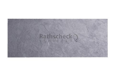 Rathscheck Schiefer Kehlstein 2 42x14 cm rechts InterSin behauen Schiefergrube 300