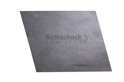 Rathscheck Schiefer Rauten roh 23x18 cm InterSin Schiefergrube 300